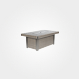 Dover Rectangular Fire Pit Table