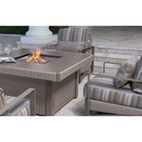 Dover Square Fire Pit Table