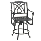 Grand Terrace Swivel Bar Stool