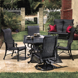 Grand Terrace Wicker Sling Dining