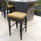 Island Bar Height Stools Set of Two
