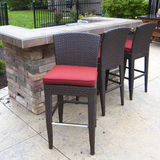 Island Counter Height Stools Set of Two