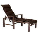 Lakeside Padded Sling Chaise Lounge