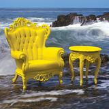 Luigi Armchair - Yellow