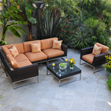 Mirabella  Woven Sectional