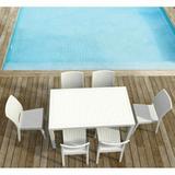 Orlando Rectangle Dining - White