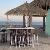 Outdoor Tiki Bar Set