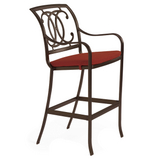 Palladian Double C Cast Bar Stool
