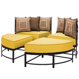 San Michele Round Sectional