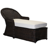 Sedona Wicker Chaise Lounge