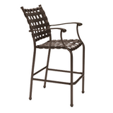 Sorrento Cross Strap Bar Stool