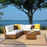 St. Barths 7-PC Corner Modular Sectional with Cushions
