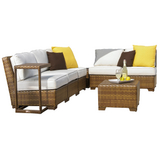 St. Barths 8-PC Corner Modular Sectional with Cushions