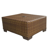St. Barths Coffee Table with Umbrella Hole