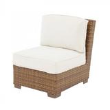 St. Barths Modular Armless Chair with Cushions
