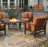 Trenton Deep Seating/Fire Pit Set