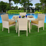 Verona Wicker Dining