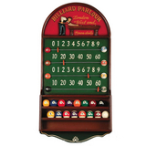 Billiard Parlour Scoreboard & Ball Holder