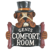 Gents Comfort Room Wall Art