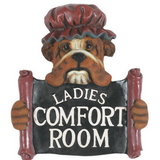 Ladies Comfort Room Wall Art