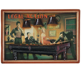 Legal Action Wall Art
