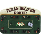 Texas Hold Em Poker Wall Art
