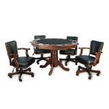 Octagonal Two-In-One Poker Table Set