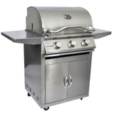 3 Burner Grill and Cart