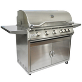 5 Burner Grill and Cart
