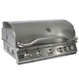 5 Burner Built In Grill