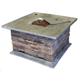 42'' Weatherstone Fire Pit Table