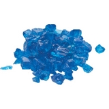 Aqua Blue Fire Glass