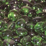 Emerald Green Luster Fire Beads