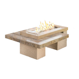 Uptown Fire Pit Table - Brown