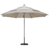 11' Stainless Steel Market Umbrella