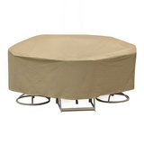 48'' - 54'' Round Dining Set Cover - Winter