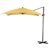 NEW SEABROOKE 10' SQUARE CANTILEVER PATIO POOL OUTDOOR UMBRELLAS O