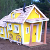 Double Deluxe Crooked Playhouse