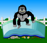 Gorilla Floor Padding Oval Pools