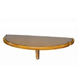 Wall Pub Table - Chestnut