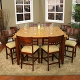 Andria Butterfly Counter Height Dining Set