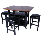 Island Getaway Counter Height Pub Set