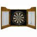 19th Hole Dart Board & Cabinet