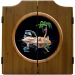 Lost In Paradise Dart Cabinet