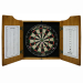 Lounge Lizard Dart Board & Cabinet