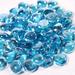 Aqua Blue Luster Fire Beads